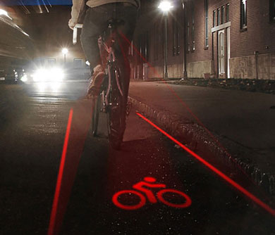 Bike Lane Safety Light