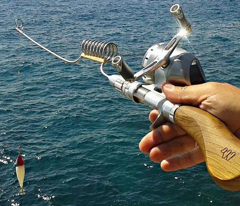 Compact Fishing Rod
