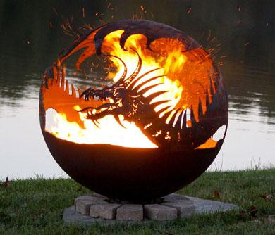 Dragon Fire Pit