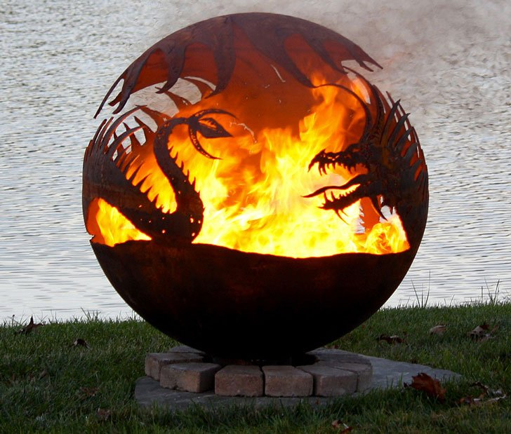 Dragon Fire Pit Awesome Stuff 365