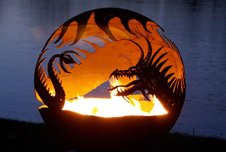 Dragons Fire Pit
