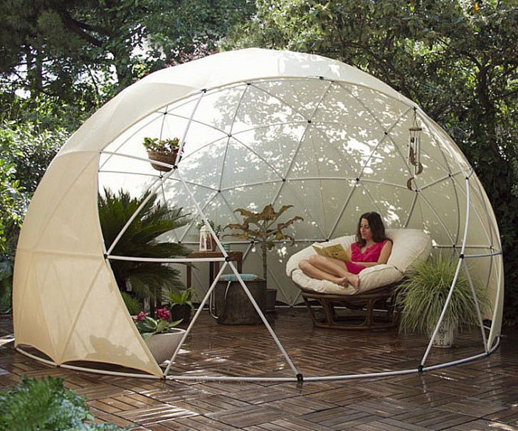 garden igloo awesome stuff 365. Black Bedroom Furniture Sets. Home Design Ideas