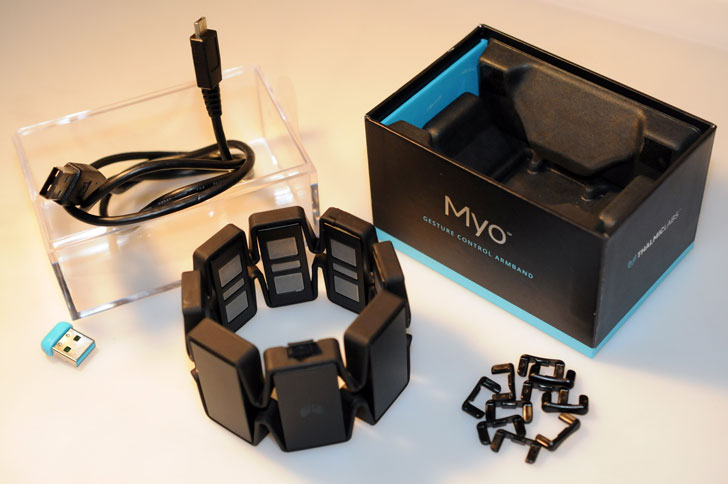 MYO-Gesture-Control-Arm-Band