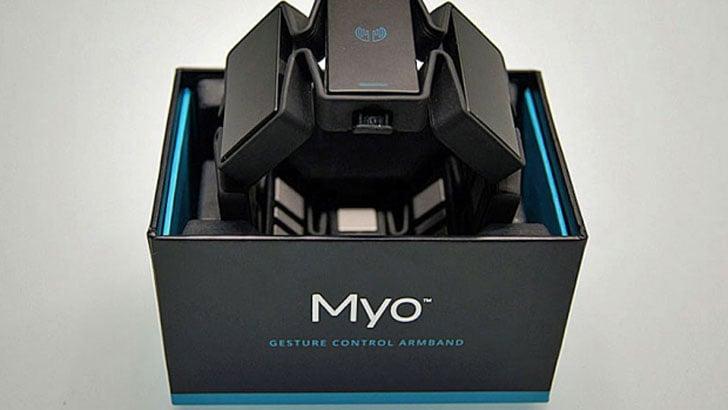 MYO Gesture Control Armband