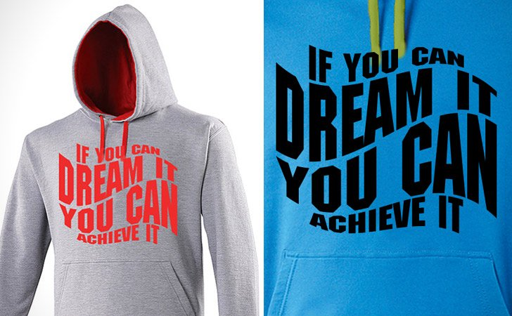 Positive Motivational Hoodie