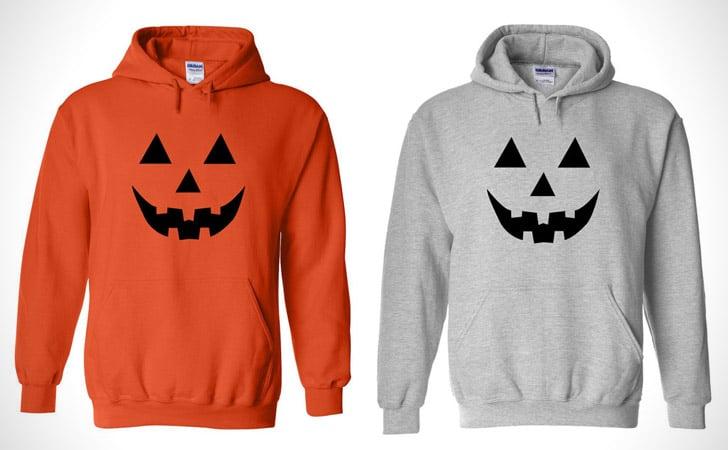 Pumpkin Jack-O-Lantern Hoodie