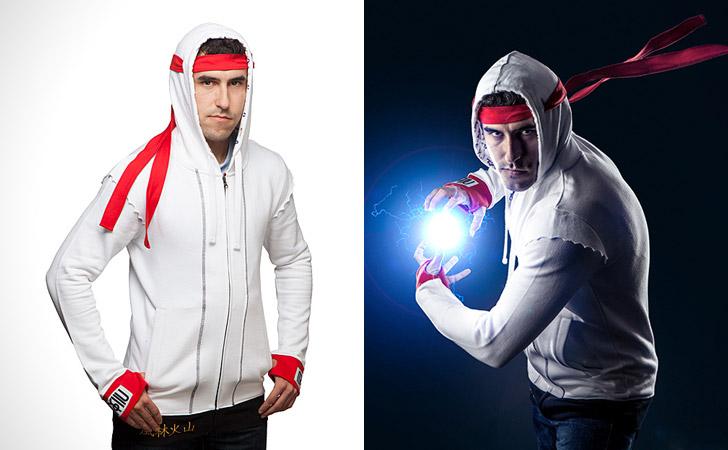 Ryu Street Fighter Hoodie