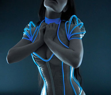 Sexy TRON Outfit