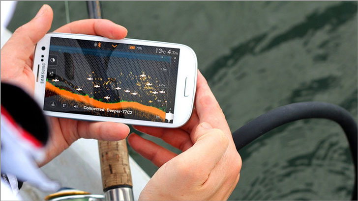 Smartphone Fish Finder Attachment