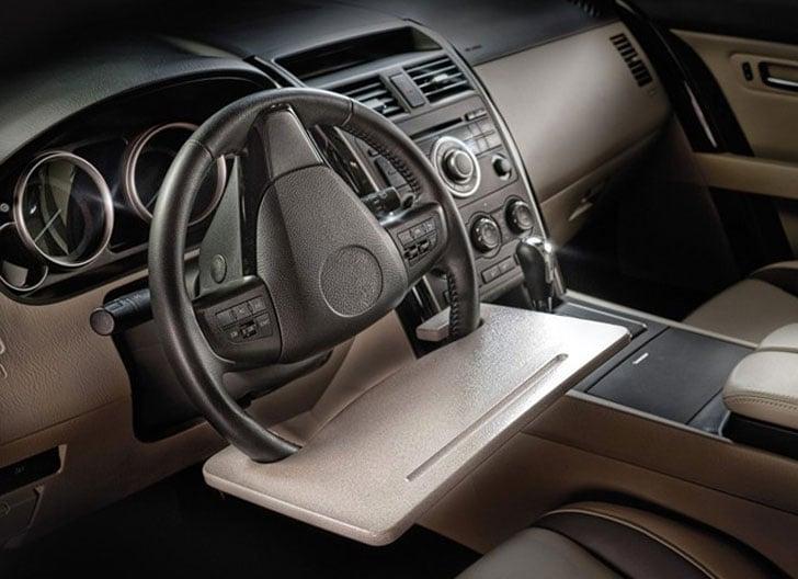 Steering Wheel Work Surface