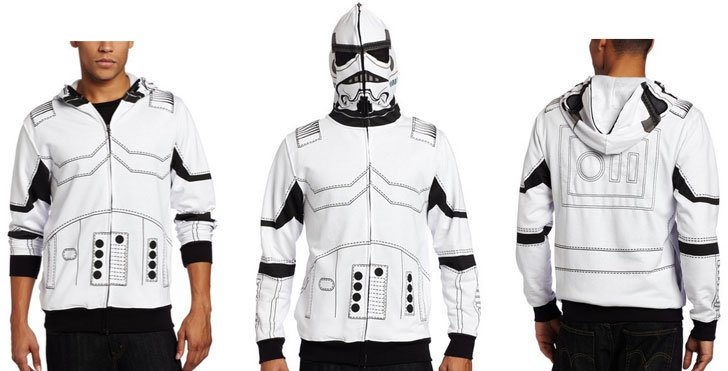 the storm trooper hoodie