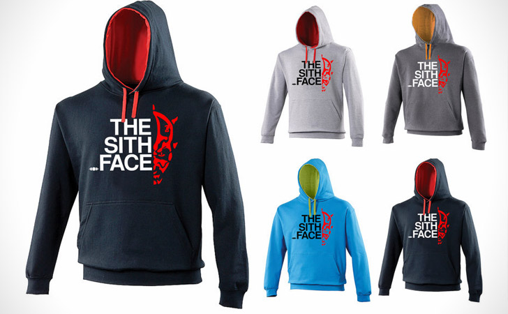 The Sith Face Hoodie