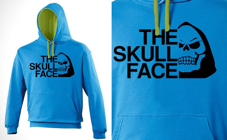 The Skull Face Skeletor Hoodie