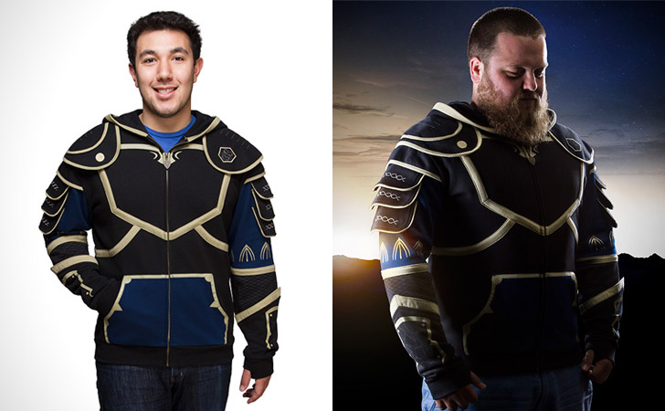 Warcraft Lothar Armour Hoodie