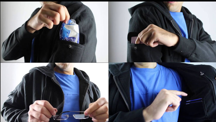 the 13-Pocket Hoodie
