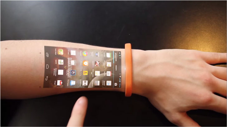 Wearable Touchscreen Bracelet
