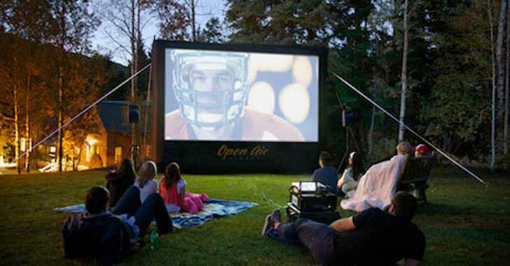 12 Foot Outdoor Movie Screen