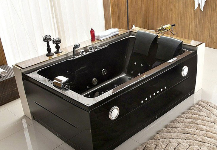 2 Person Black Jacuzzi