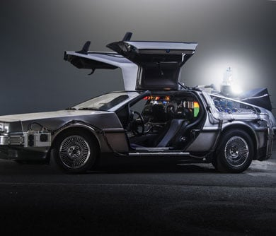 2017 Back to the Future Car