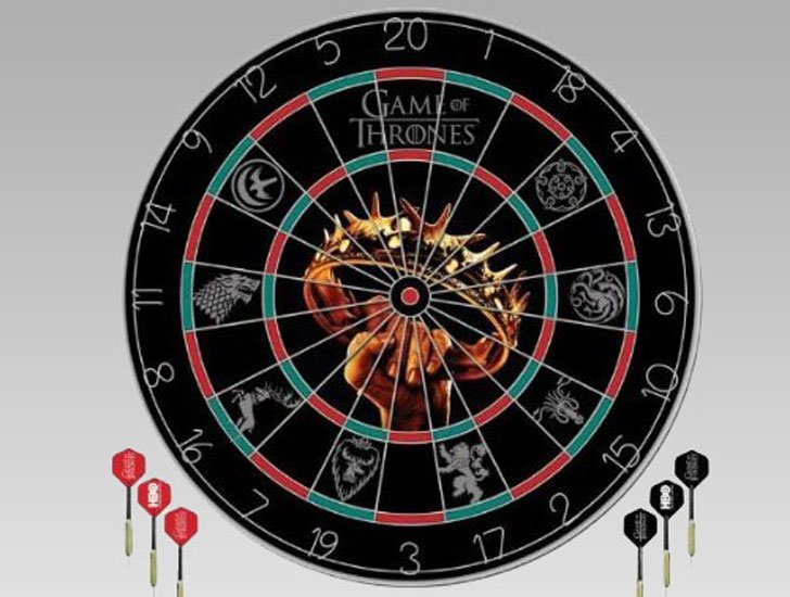 G.O.T Dart Board - Cool Game Of Thrones Gift Ideas