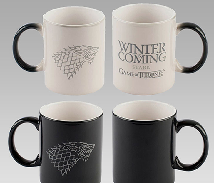 game of thrones heat sensitive mug - Cool Game Of Thrones Gift Ideas