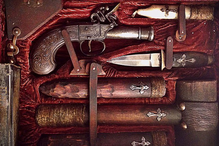 A 19th-Century Vampire Killing Kit