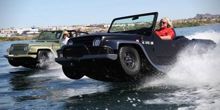 Amphibious Jeep