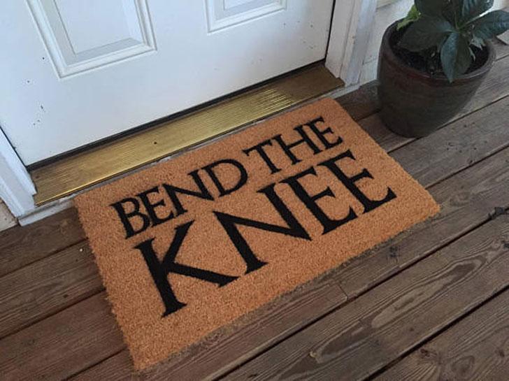 Bend the Knee Doormat