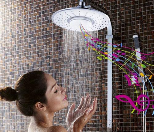 Bluetooth Speaker Showerhead