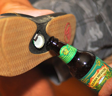 Bottle-Opening-Sandals