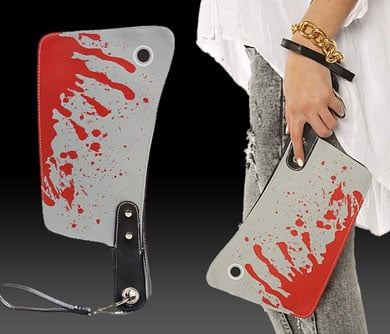 Butchers Cleaver Purse
