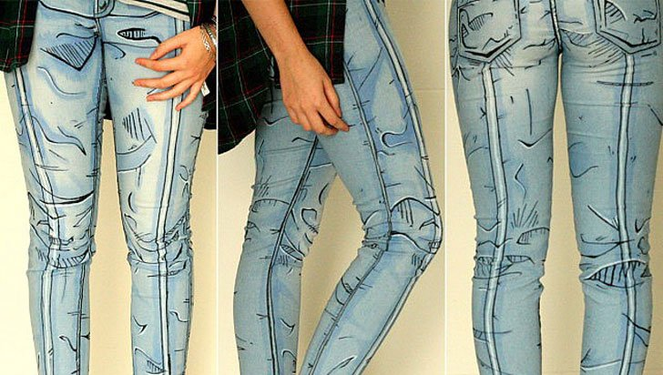 Cel Shaded Jeans