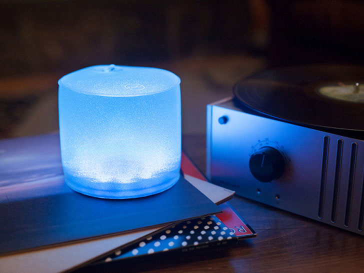 Color Inflatable Solar Lights