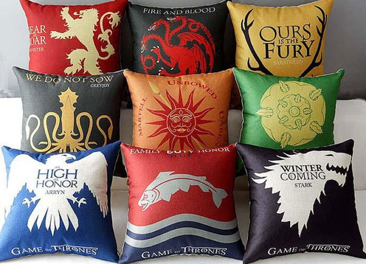 Custom Westeros Pillow Cases - Cool Game Of Thrones Gift Ideas
