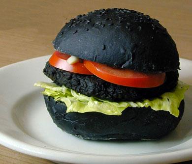 DIY Black Burgers