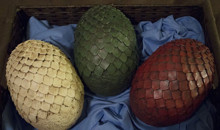 # DIY Dragon Eggs Raw Cast - Cool Game Of Thrones Gift Ideas