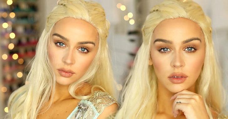 Daenerys Targaryen Costume Wig - Cool Game Of Thrones Gift Ideas