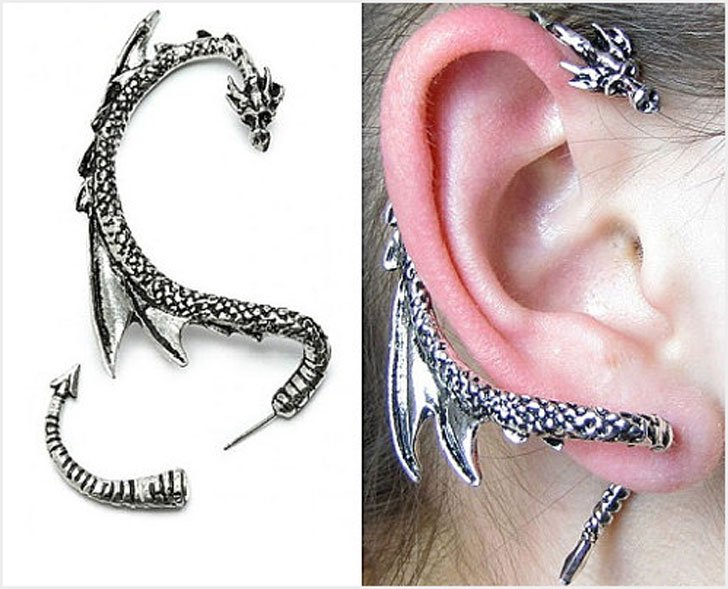 Dragon Ear Cuffs - Cool Game Of Thrones Gift Ideas