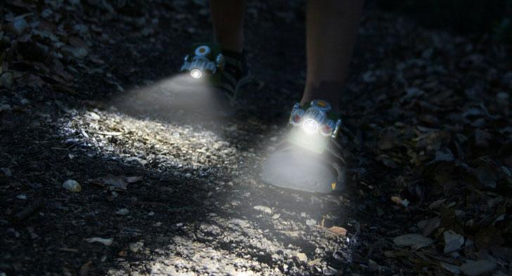 Flashlight Shoes