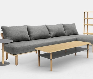 Flat-Pack Living Room Set
