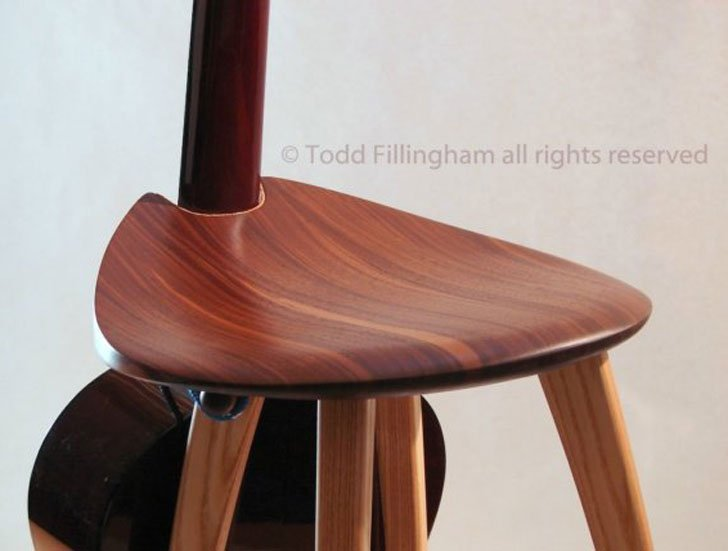 Funky Guitar Stand Stool