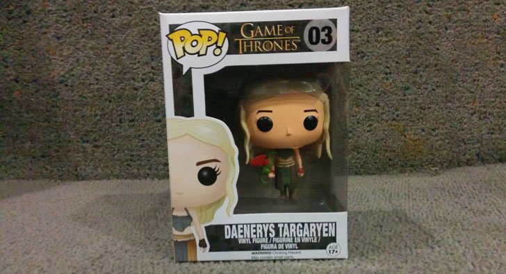 Funky Pop Daenerys Figure - Cool Game Of Thrones Gift Ideas
