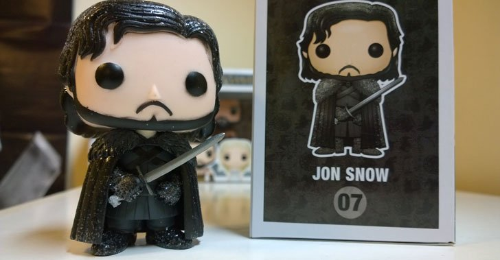 Funky Pop Jon Snow Figure - Cool Game Of Thrones Gift Ideas