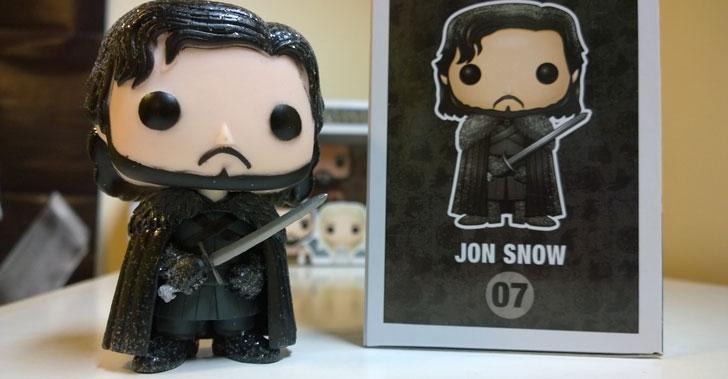 Funky Pop Jon Snow Figure - Cool Game Of Thrones Gift Ideas