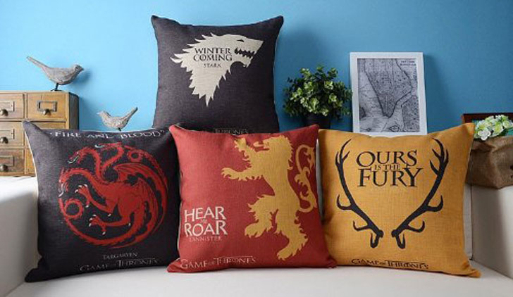 G.O.T Cushion Covers - Cool Game Of Thrones Gift Ideas