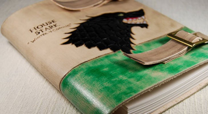 G.O.T Leather Journal - Cool Game Of Thrones Gift Ideas