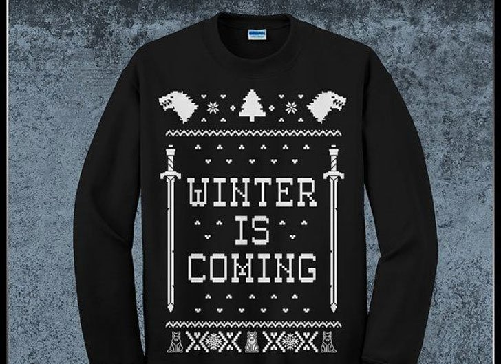 G.O.T Ugly Sweater - Cool Game Of Thrones Gift Ideas