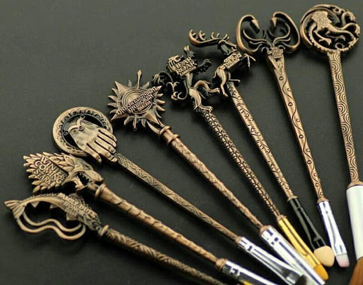 Game Of Thrones Inspired Makeup Brushes