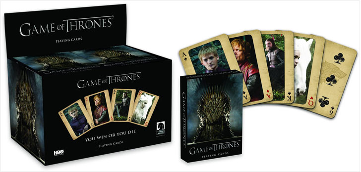# Game Of thrones Playing Cards - Cool Game Of Thrones Gift Ideas