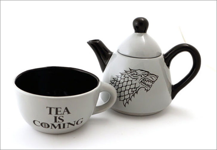 Game of Thrones Dire Wolf Teapot - game of throne gifts